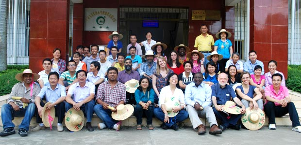 Group photo from the China workshop 2012.